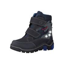 RICOSTA Winterstiefel Blinkies GRISU, Sympatex, Weite W für breite Füße, für Jungen blau/grau Junge Gr. 26