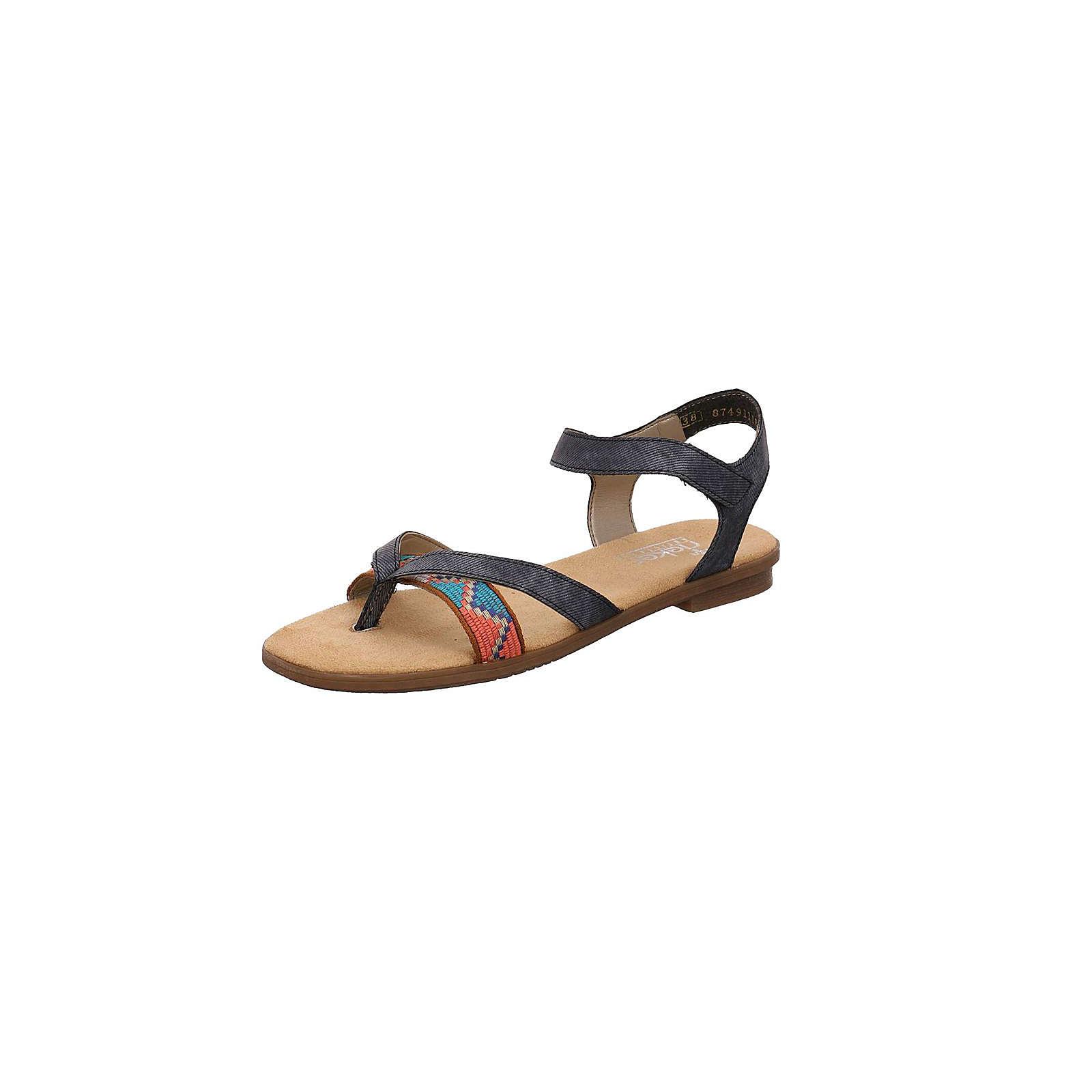 rieker Klassische Sandalen blau Damen Gr. 41