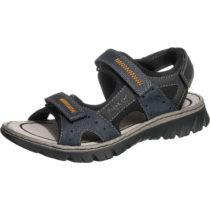 rieker Klassische Sandalen blau-kombi Herren Gr. 40