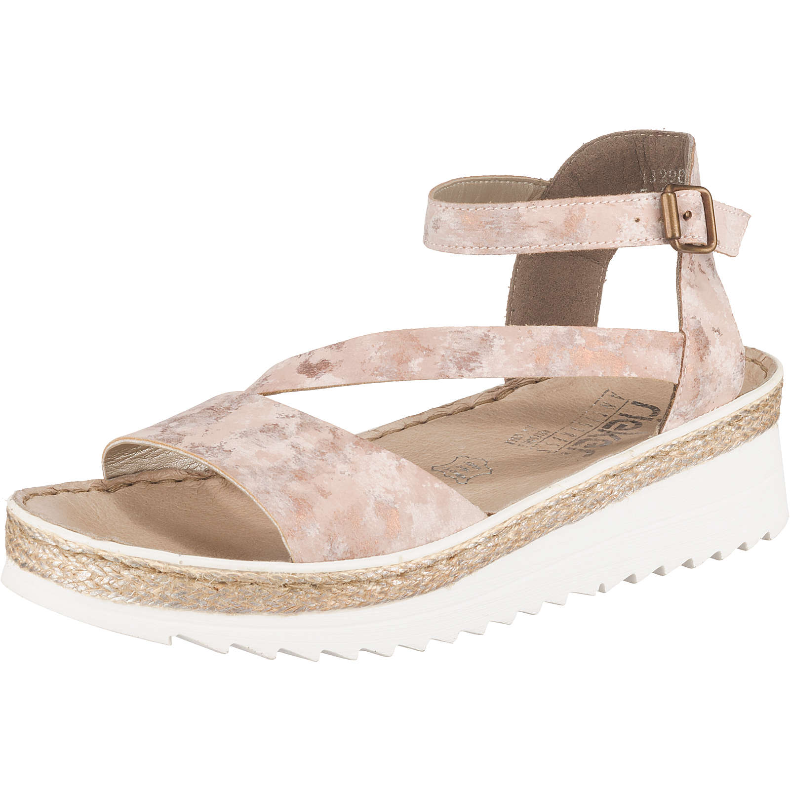 rieker Klassische Sandalen rosa Damen Gr. 37
