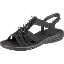 rieker Klassische Sandalen schwarz Damen Gr. 39