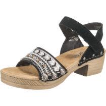 rieker Klassische Sandaletten schwarz Damen Gr. 37