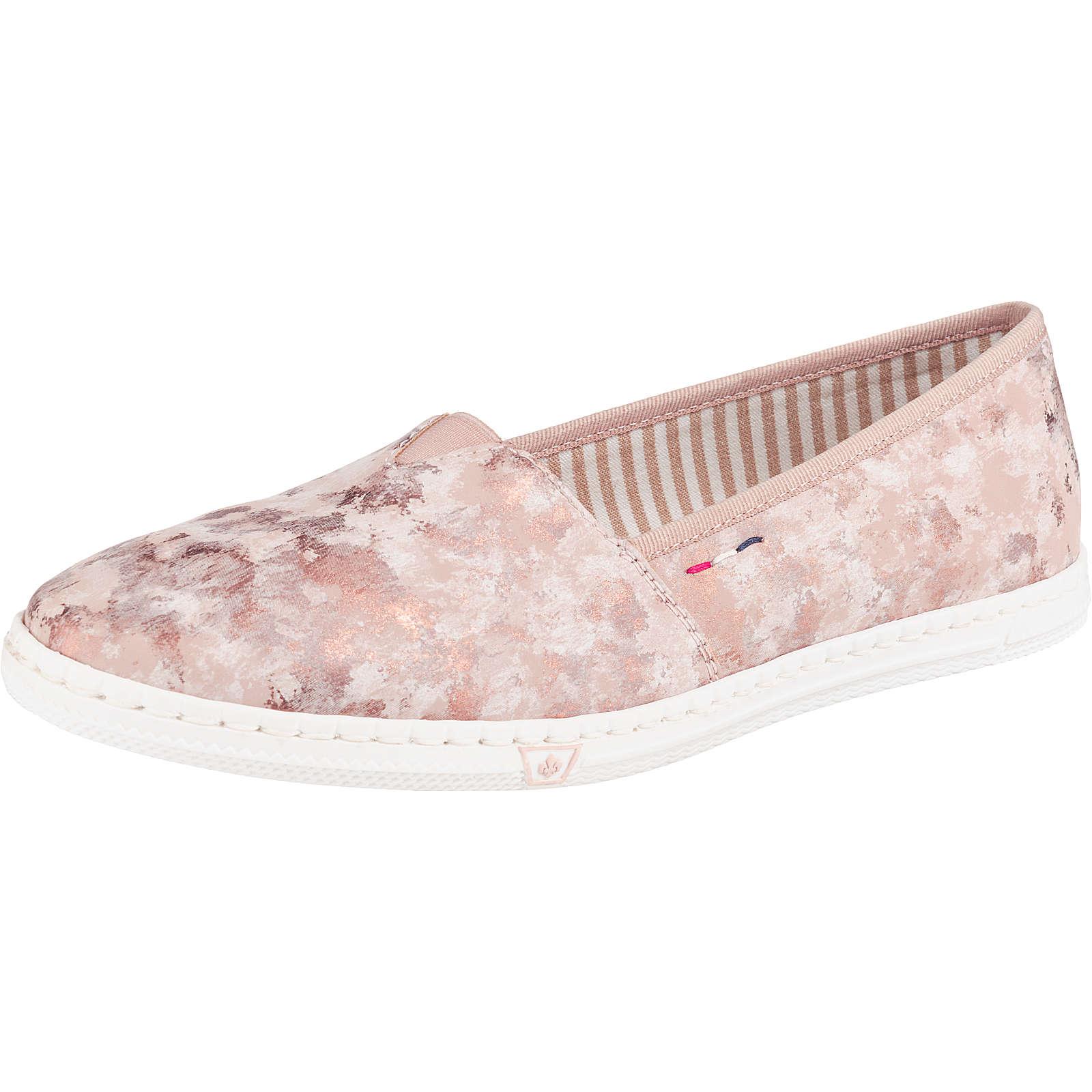 rieker Komfort-Slipper rosa Damen Gr. 39