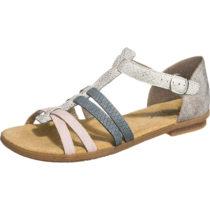 rieker Mussurana/Ripple/Boccia/Space Klassische Sandalen grau-kombi Damen Gr. 36