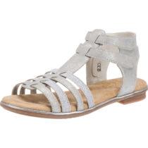 rieker Sandalen für Mädchen silber Mädchen Gr. 36