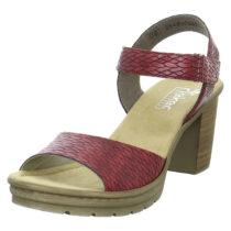 rieker Sandaletten V1589 Klassische Sandaletten rot Damen Gr. 36