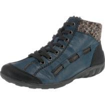 rieker Schnürstiefeletten blau Damen Gr. 37