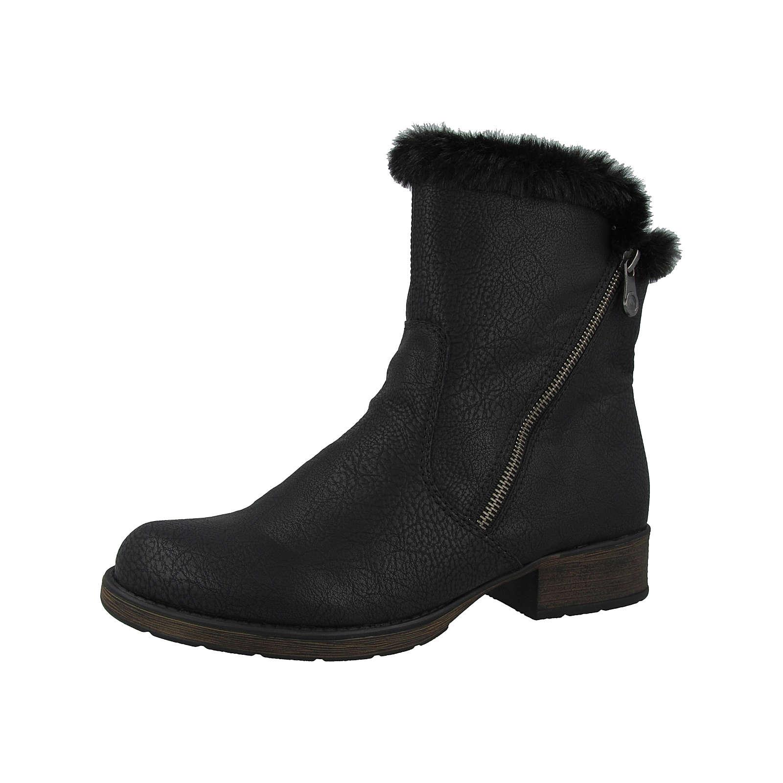 rieker Schuhe Greece-Wolf Klassische Stiefel schwarz Damen Gr. 38