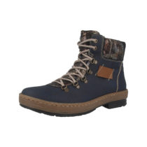 rieker Schuhe New York-Bogota-Ravi Schnürstiefeletten blau Damen Gr. 40