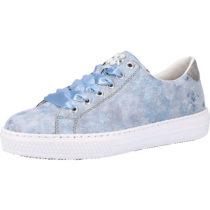 rieker Sneaker Sneakers Low blau/grau Damen Gr. 37