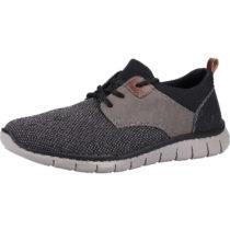 rieker Sneaker Sneakers Low grau-kombi Herren Gr. 43