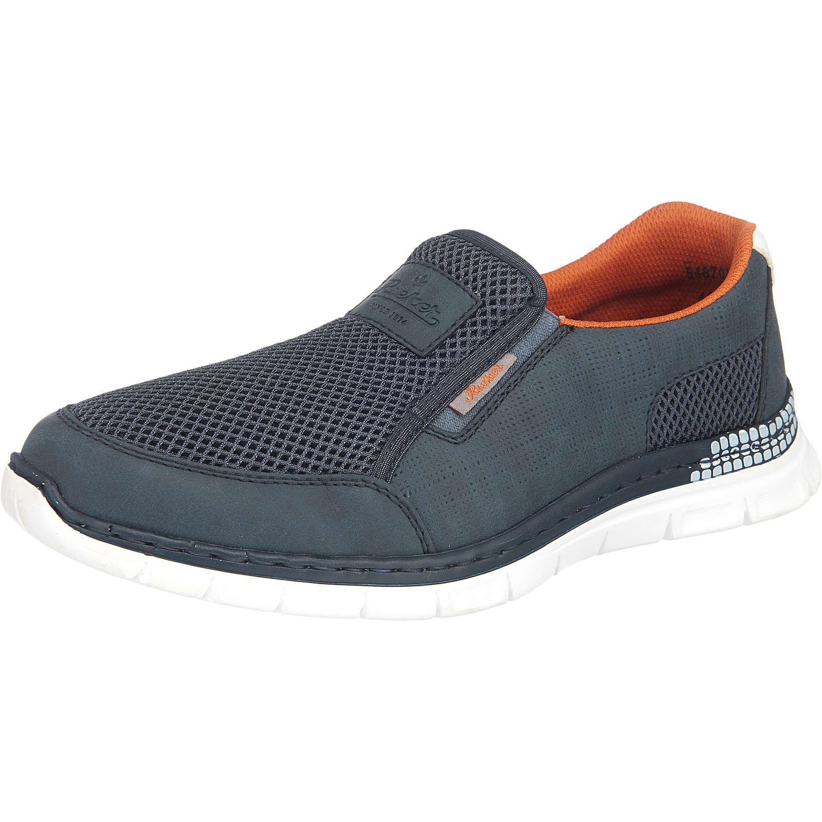 rieker Sneakers Low blau Herren Gr. 41