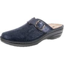 ROHDE Cremona Pantoffeln dunkelblau Damen Gr. 41