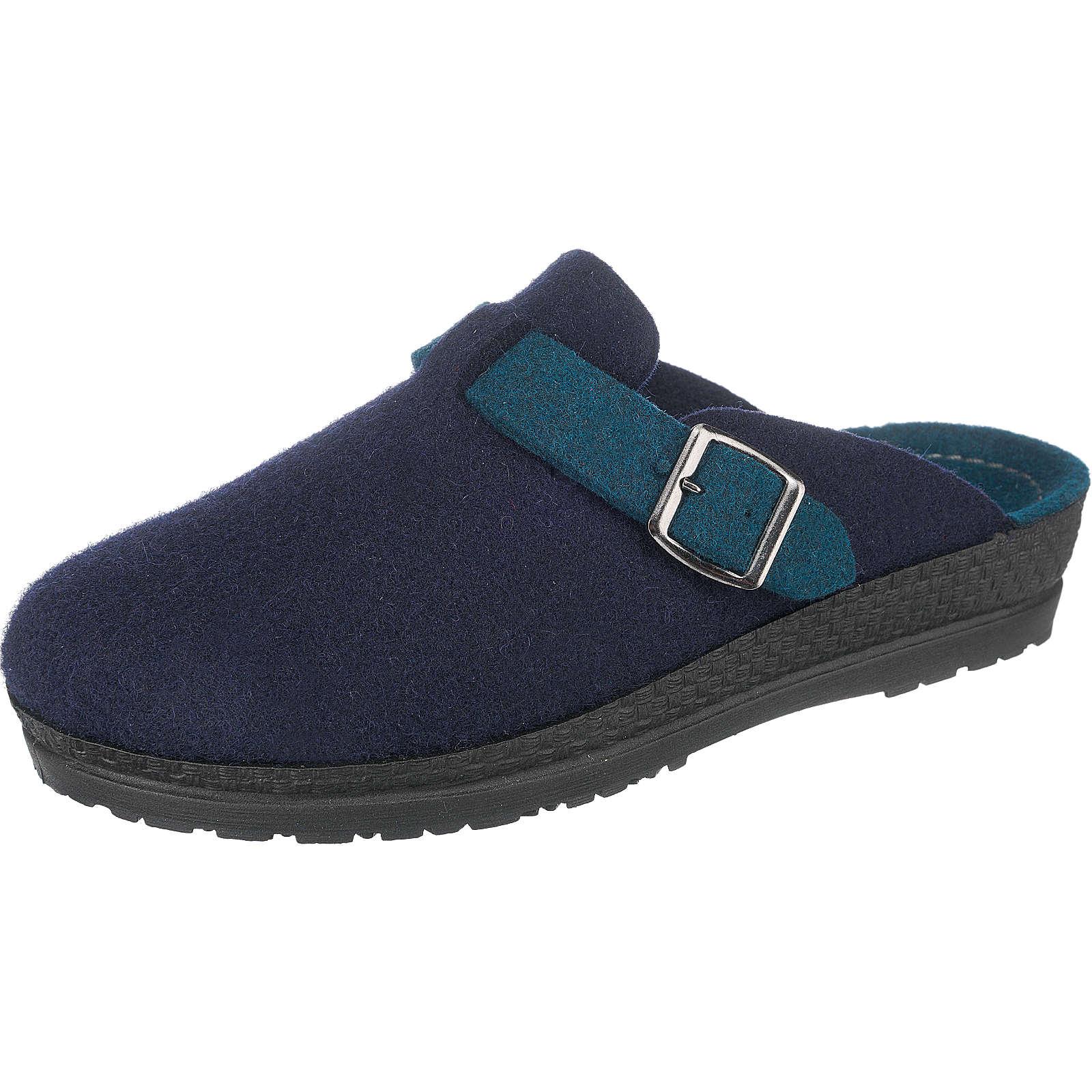 ROHDE Neustadt-D Pantoffeln dunkelblau Damen Gr. 40