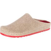 ROHDE Riesa Pantoffeln beige Damen Gr. 38