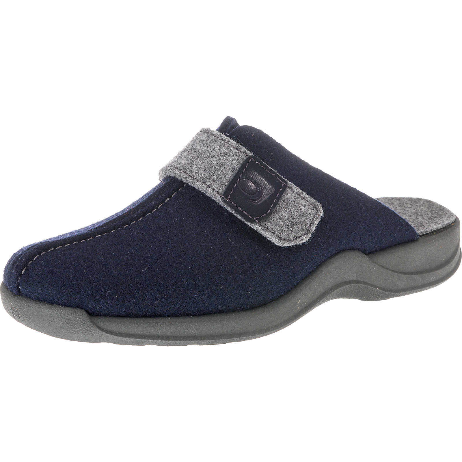 ROHDE Vaasa-D Pantoffeln dunkelblau Damen Gr. 42