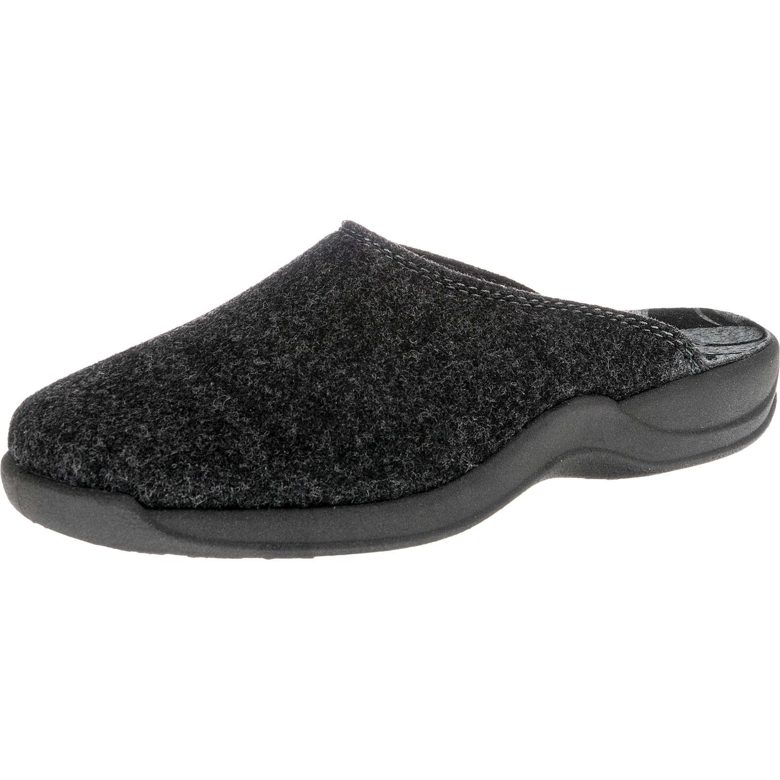 ROHDE Vaasa-D Pantoffeln dunkelgrau Damen Gr. 42