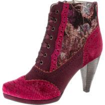 Ruby Shoo Ankle Boots rot-kombi Damen Gr. 36