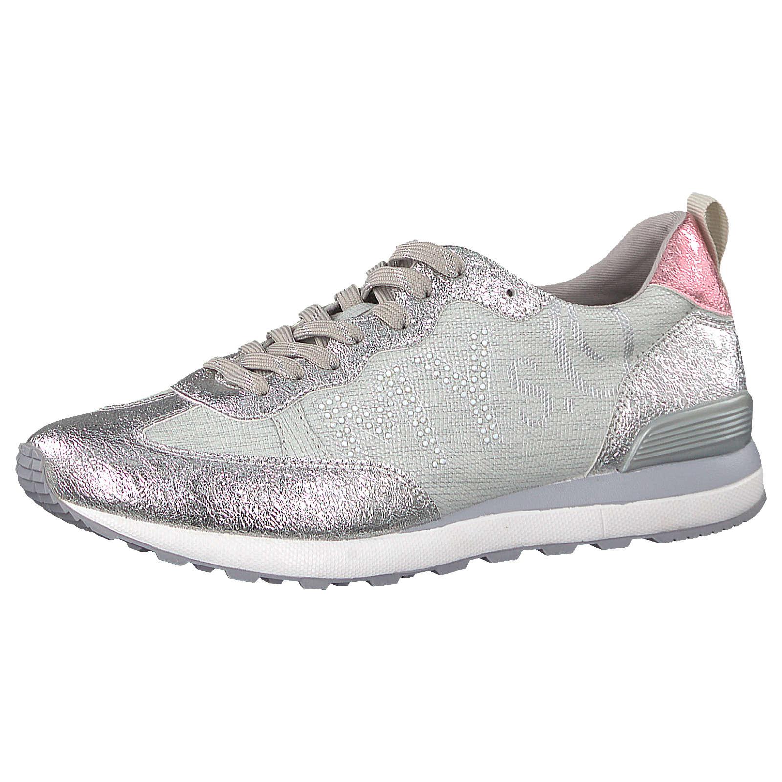 s.Oliver Sneakers Low silber Damen Gr. 37