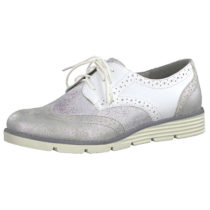 s.Oliver Sneakers Low weiß-kombi Damen Gr. 42