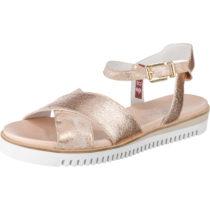 SABRINAS MIAMI Komfort-Sandalen gold Damen Gr. 39