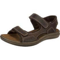 SALAMANDER DANBY Komfort-Sandalen dunkelbraun Herren Gr. 45