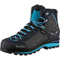 SALEWA Alpine Bergschuhe WS CROW GTX Alpinstiefel blau Damen Gr. 39