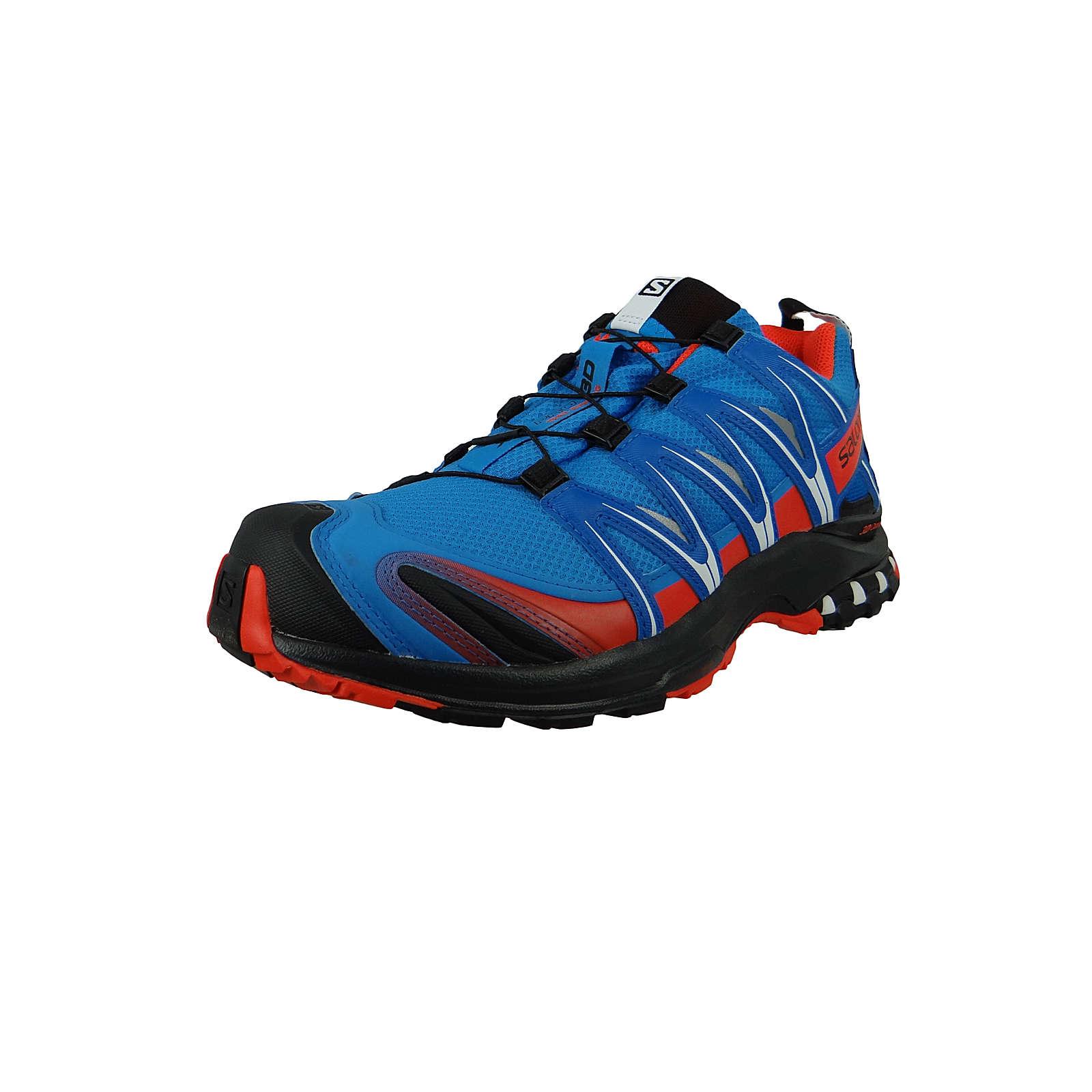 Salomon Herren Schuhe XA Pro 3D GTX Gore Tex 406715 Blau Indigo Bunting Sky Diver Cherry To Wanderschuhe blau Gr. 42