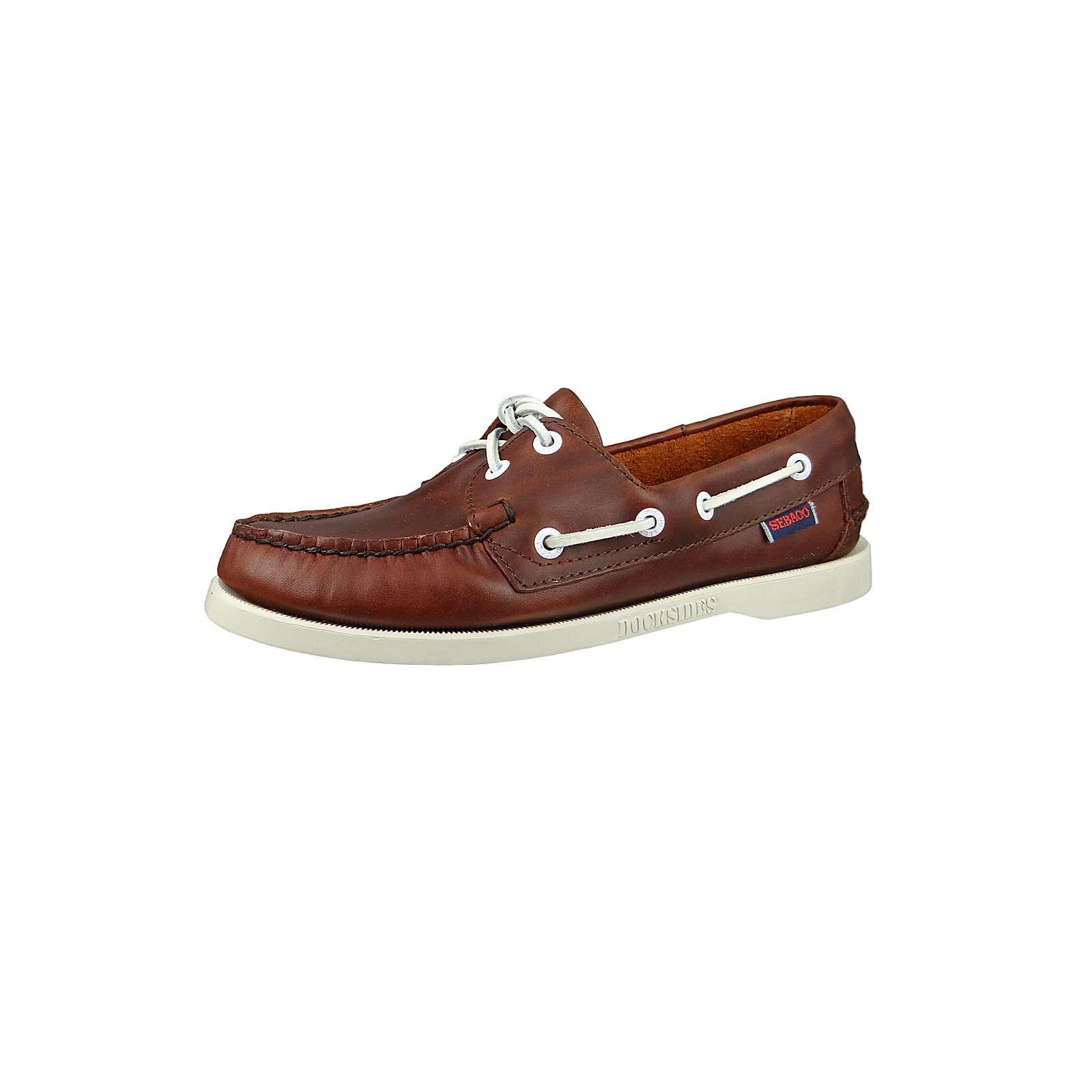SEBAGO Damen Schuhe B500247 Docksides Brown Braun Segelschuhe braun Damen Gr. 38