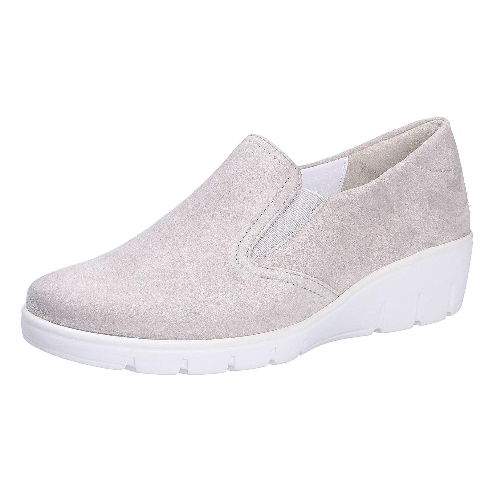 Semler Comfort Slipper Komfort-Slipper grau Damen Gr. 43