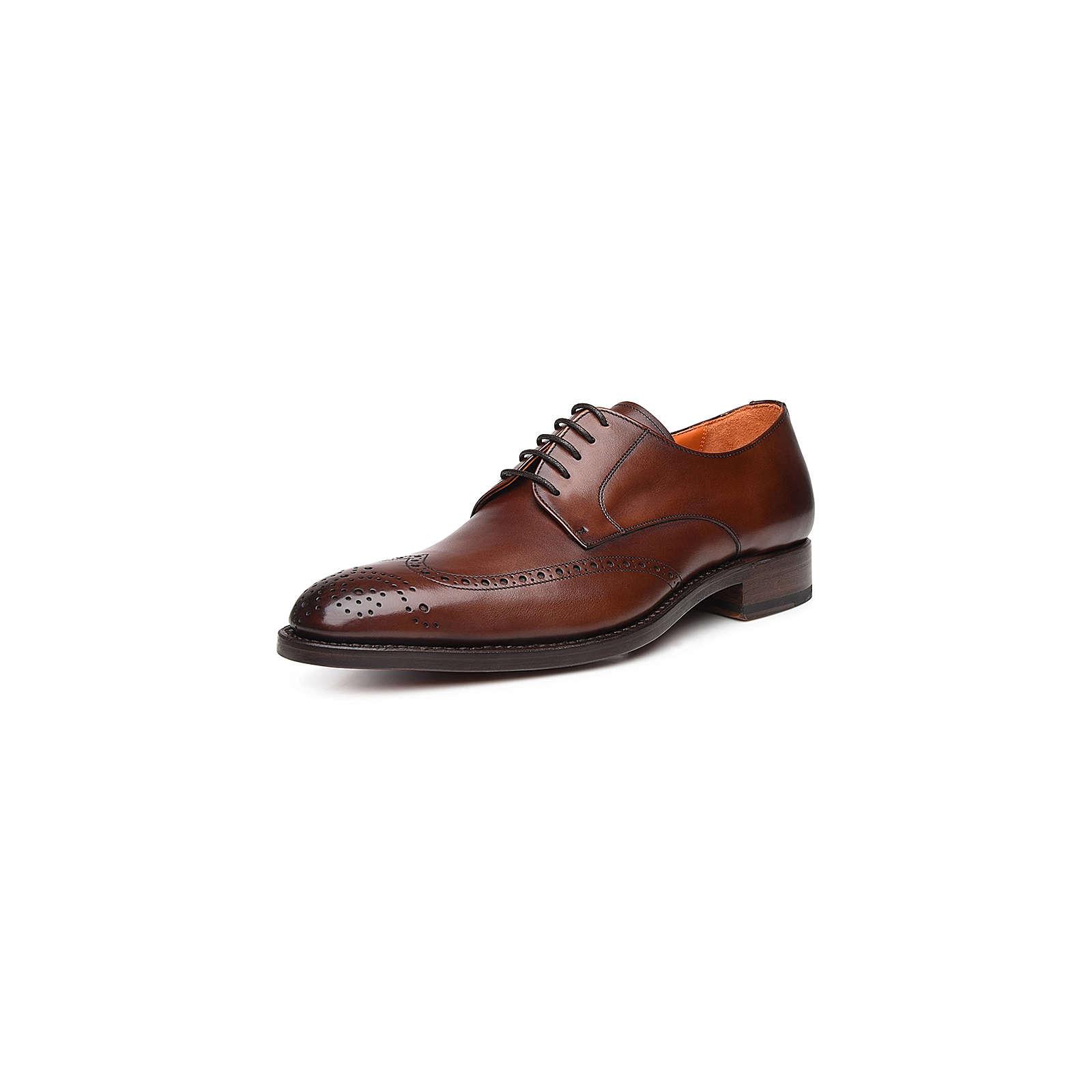 Shoepassion Schnürschuhe No. 5436 Business-Schnürschuhe braun Herren Gr. 44 2/3