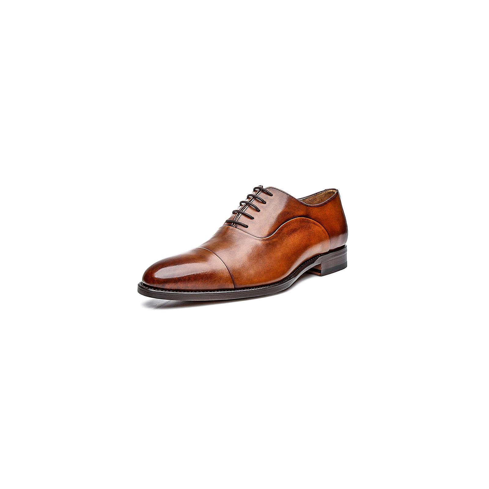 Shoepassion Halbschuhe No. 5224 Business-Schnürschuhe braun Herren Gr. 38 2/3
