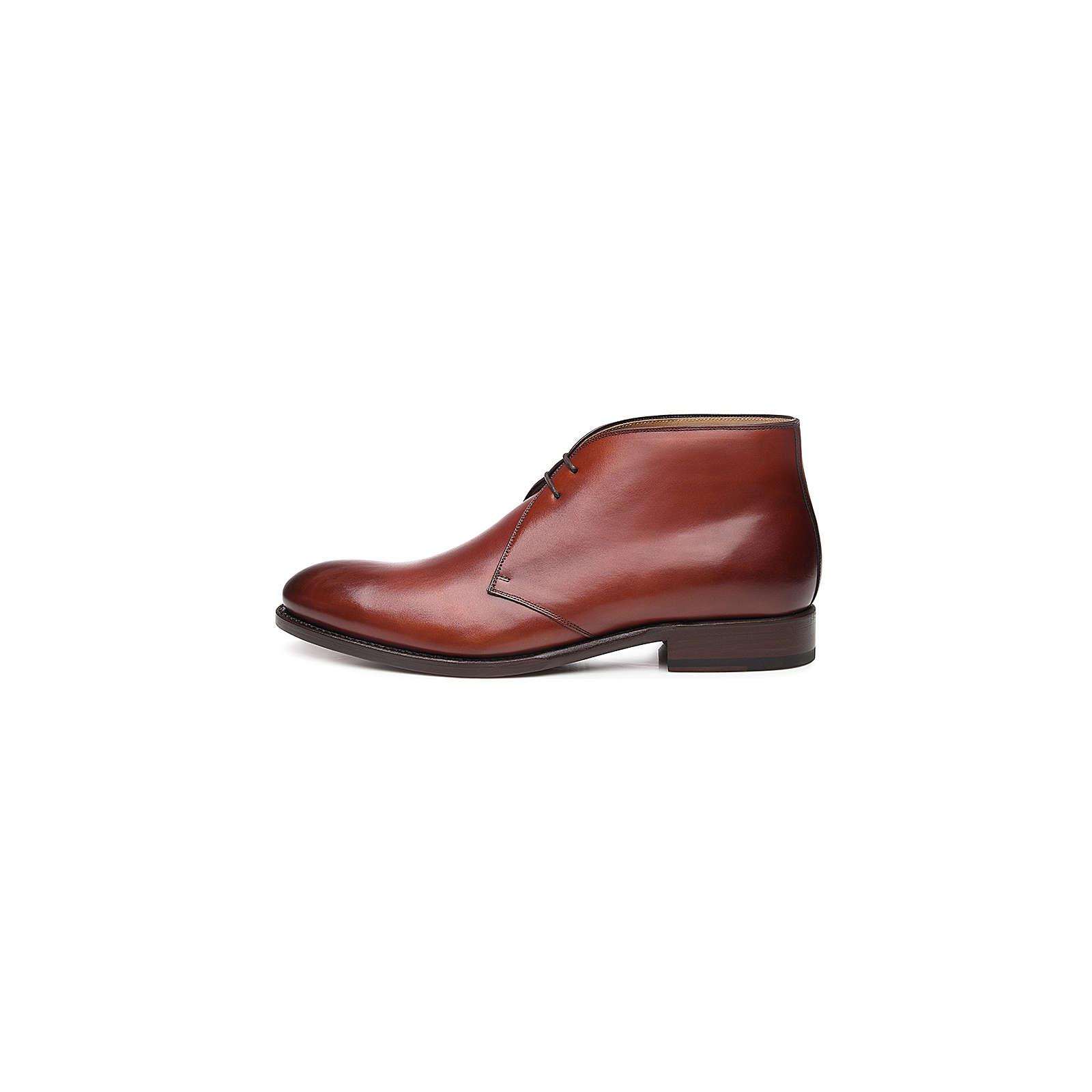 Shoepassion Chukka Boots No. 6617 Schnürstiefeletten braun Herren Gr. 42