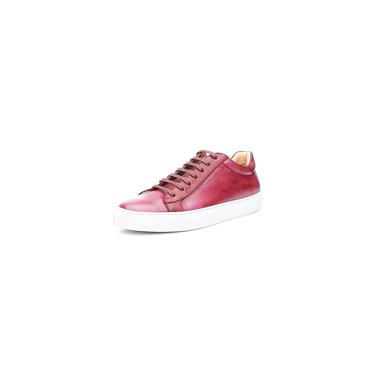 Shoepassion Sneaker No. 52 MS Sneakers Low dunkelrot Herren Gr. 41