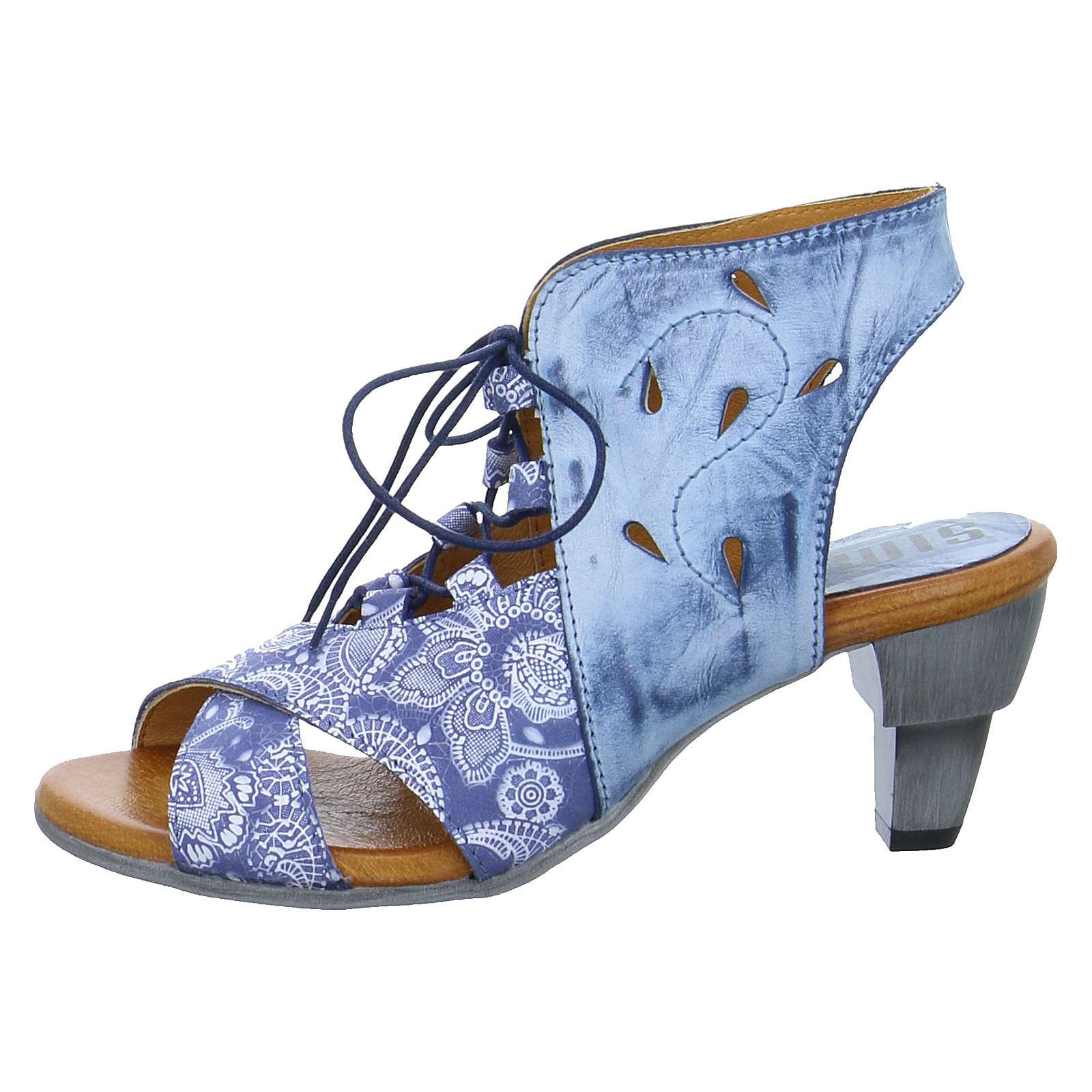SIMEN Schnürpumps blau Damen Gr. 39
