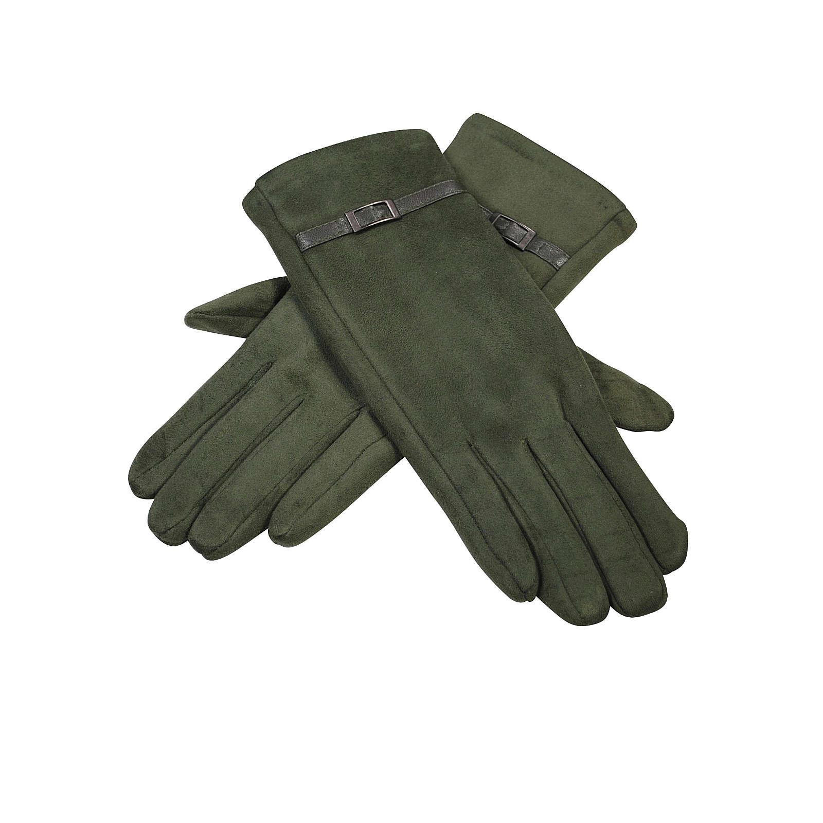 Simone Erto Handschuhe Ova Fingerhandschuhe grün Damen