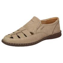 Sioux Sandale Elbego Klassische Sandalen beige Herren Gr. 39