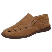 Sioux Sandale Elbego Klassische Sandalen braun Herren Gr. 39