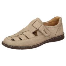 Sioux Sandale Elcino-191 Klassische Sandalen beige Herren Gr. 39