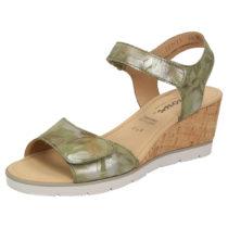 Sioux Sandale Filomia-700 Klassische Sandalen grün Damen Gr. 36