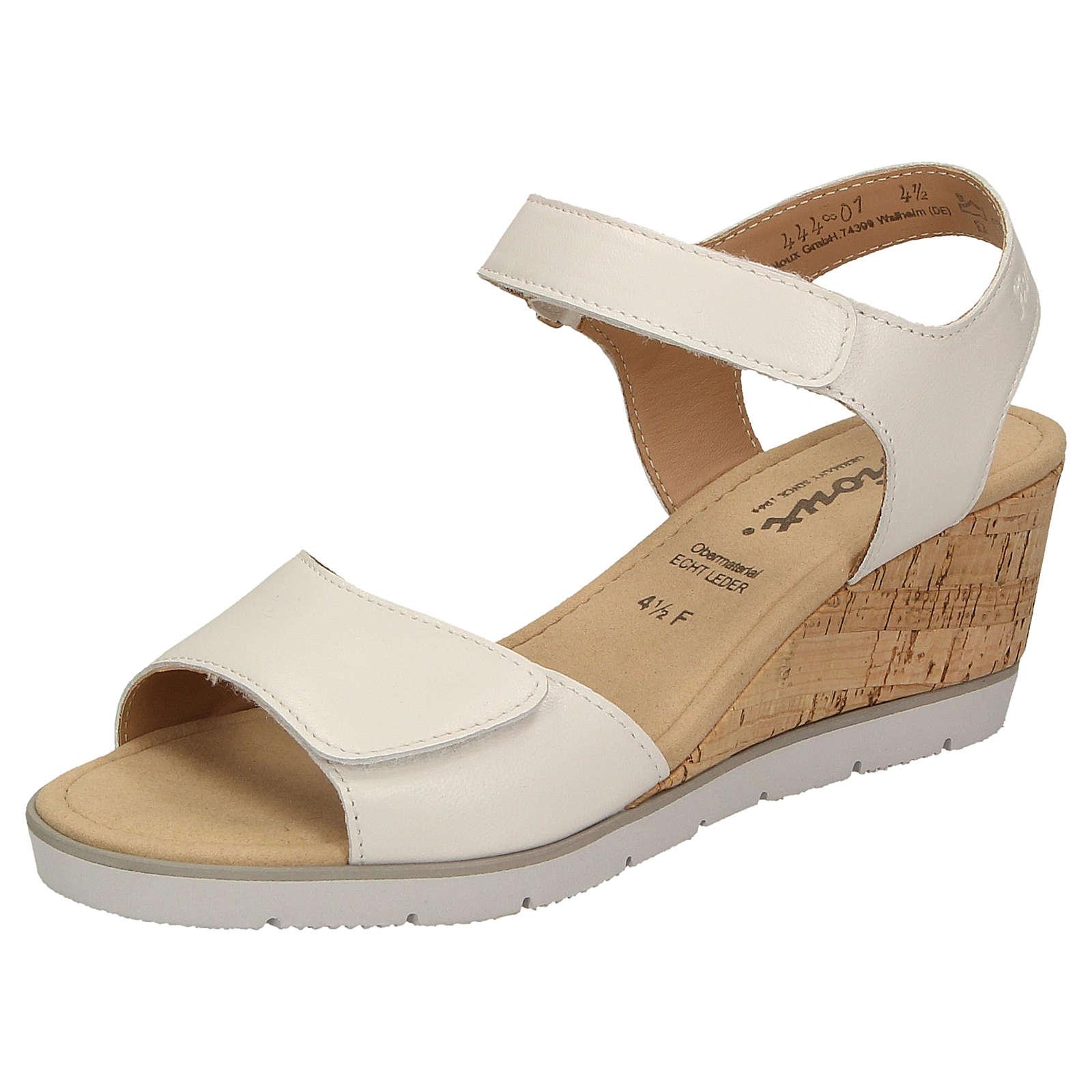 Sioux Sandale Filomia-700 Klassische Sandalen weiß Damen Gr. 37,5