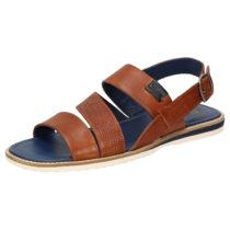 Sioux Sandale Milito-701 Klassische Sandalen braun Herren Gr. 39
