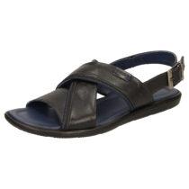 Sioux Sandale Milito-703 Klassische Sandalen schwarz Herren Gr. 39