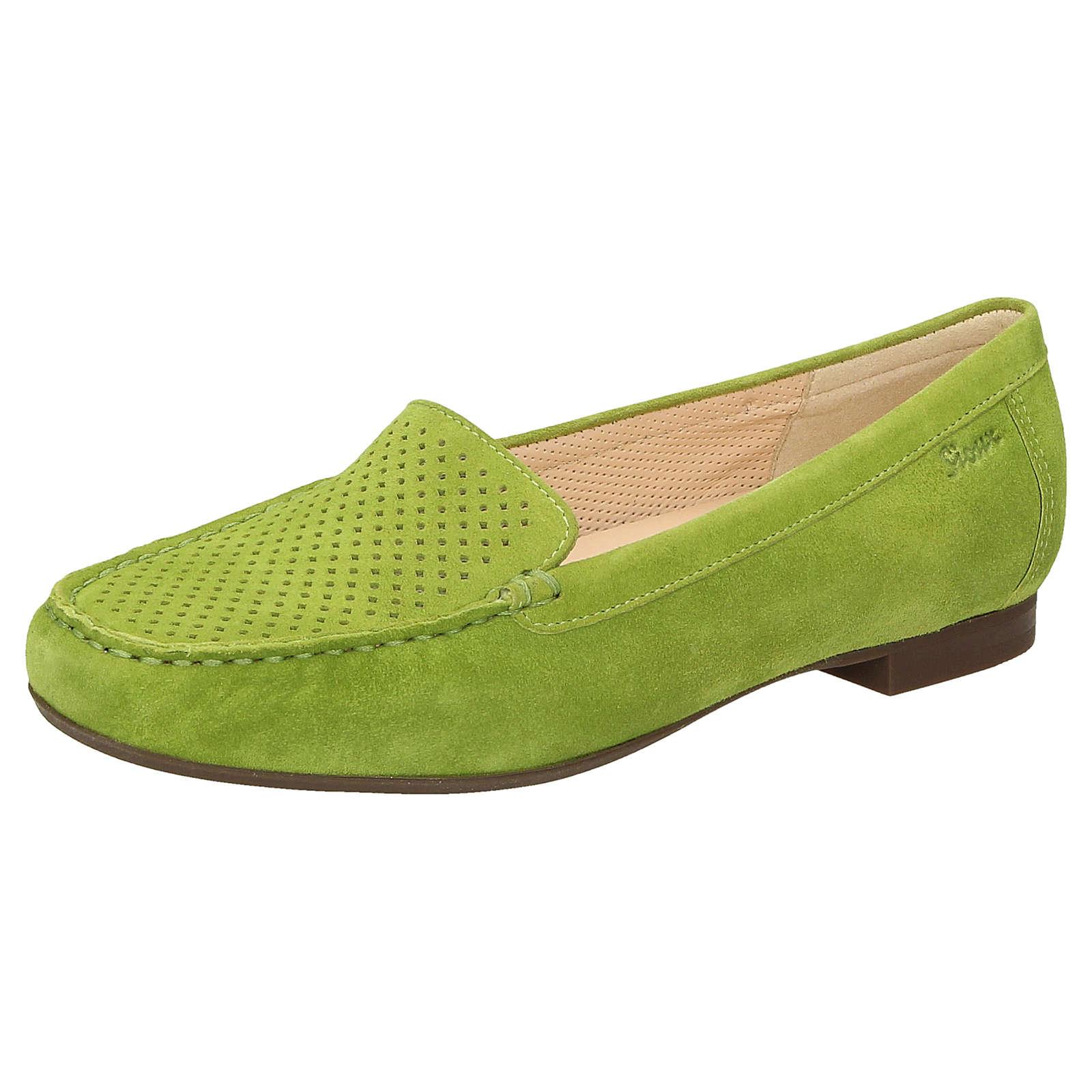Sioux Slipper Zillette-700 Slipper grün Damen Gr. 35