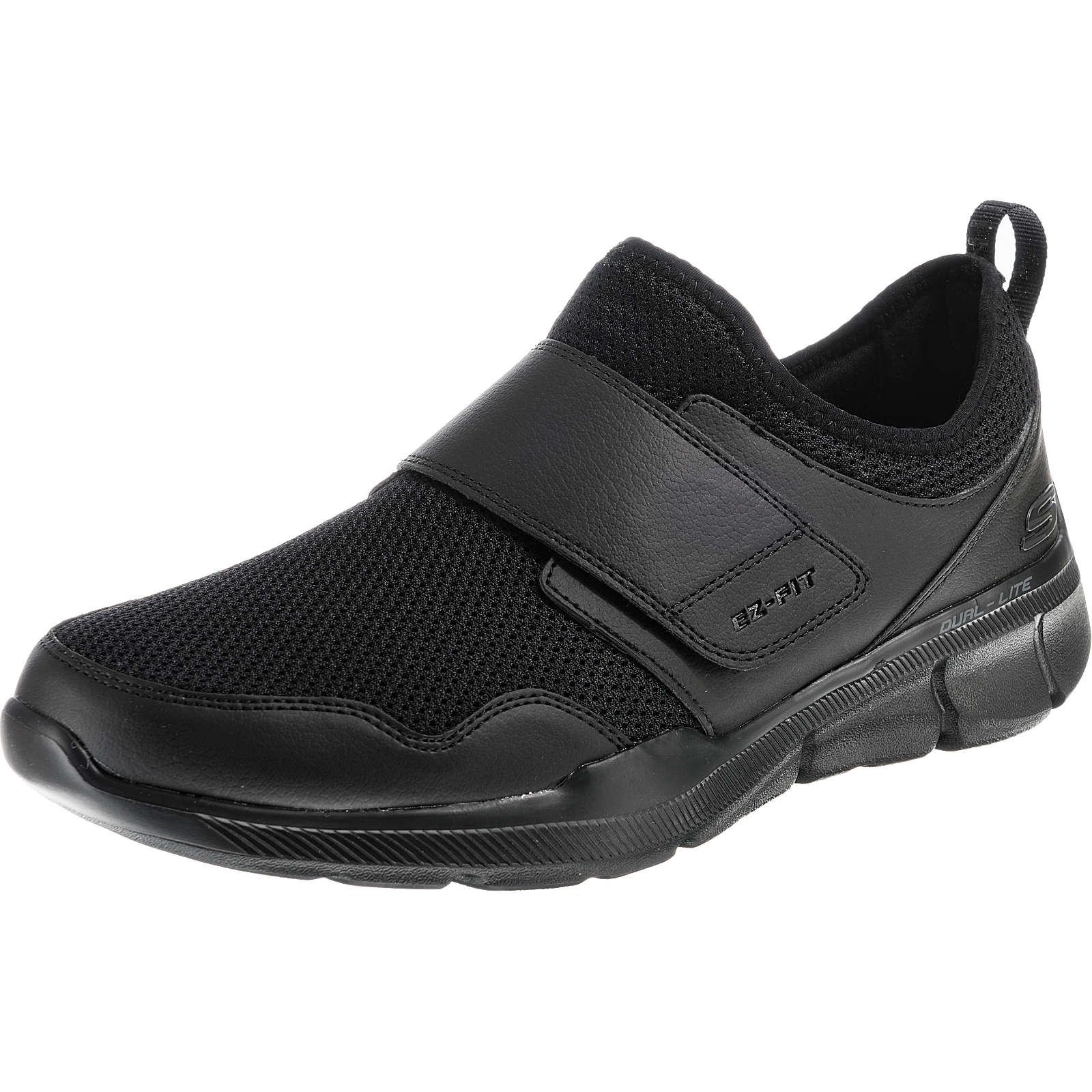 SKECHERS EQUALIZER 3.0 BERNARE Sneakers Low schwarz Herren Gr. 40