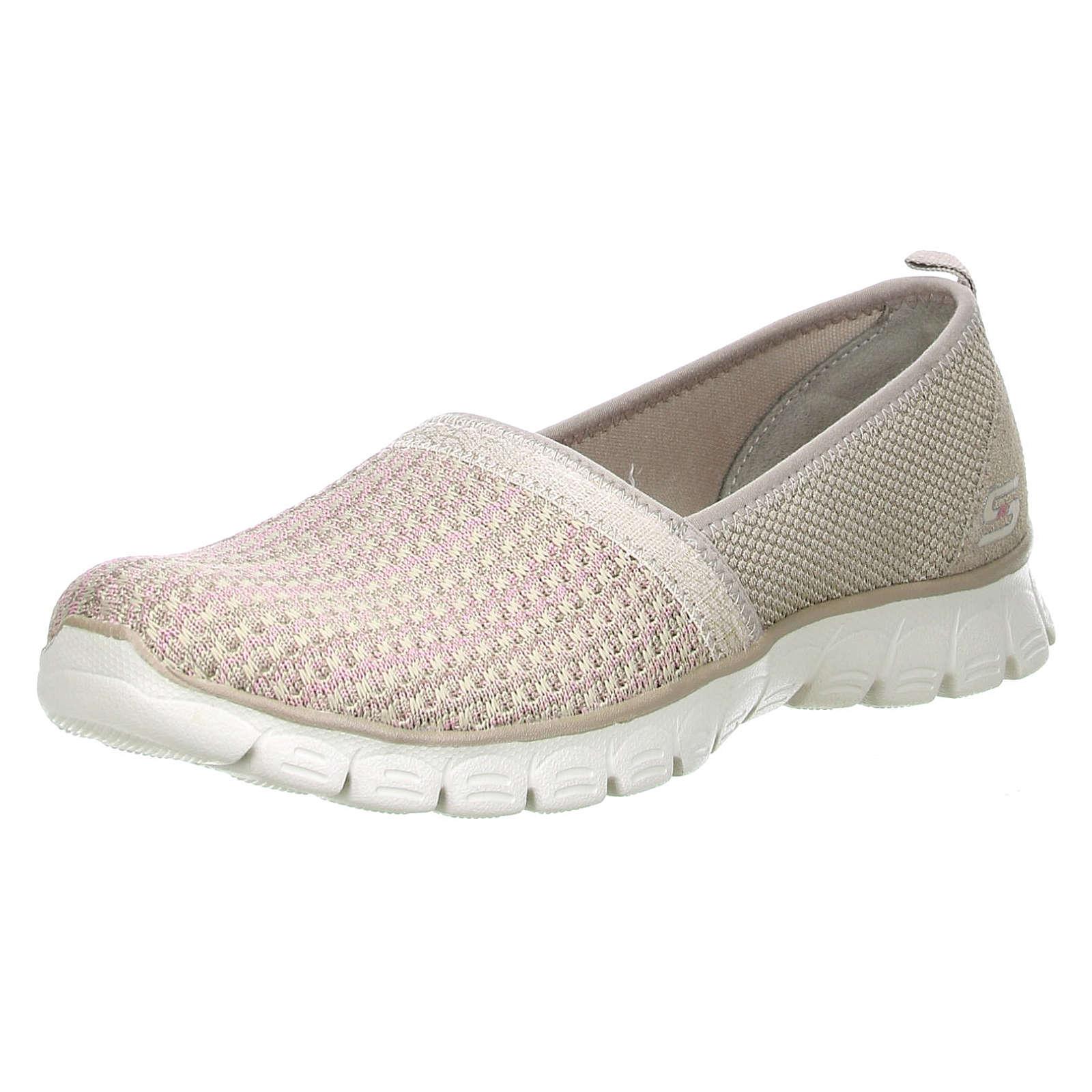 SKECHERS EZ Flex 3.0-Big Money Damen Sneaker Slipper beige/sandfarben/rosa beige Damen Gr. 36