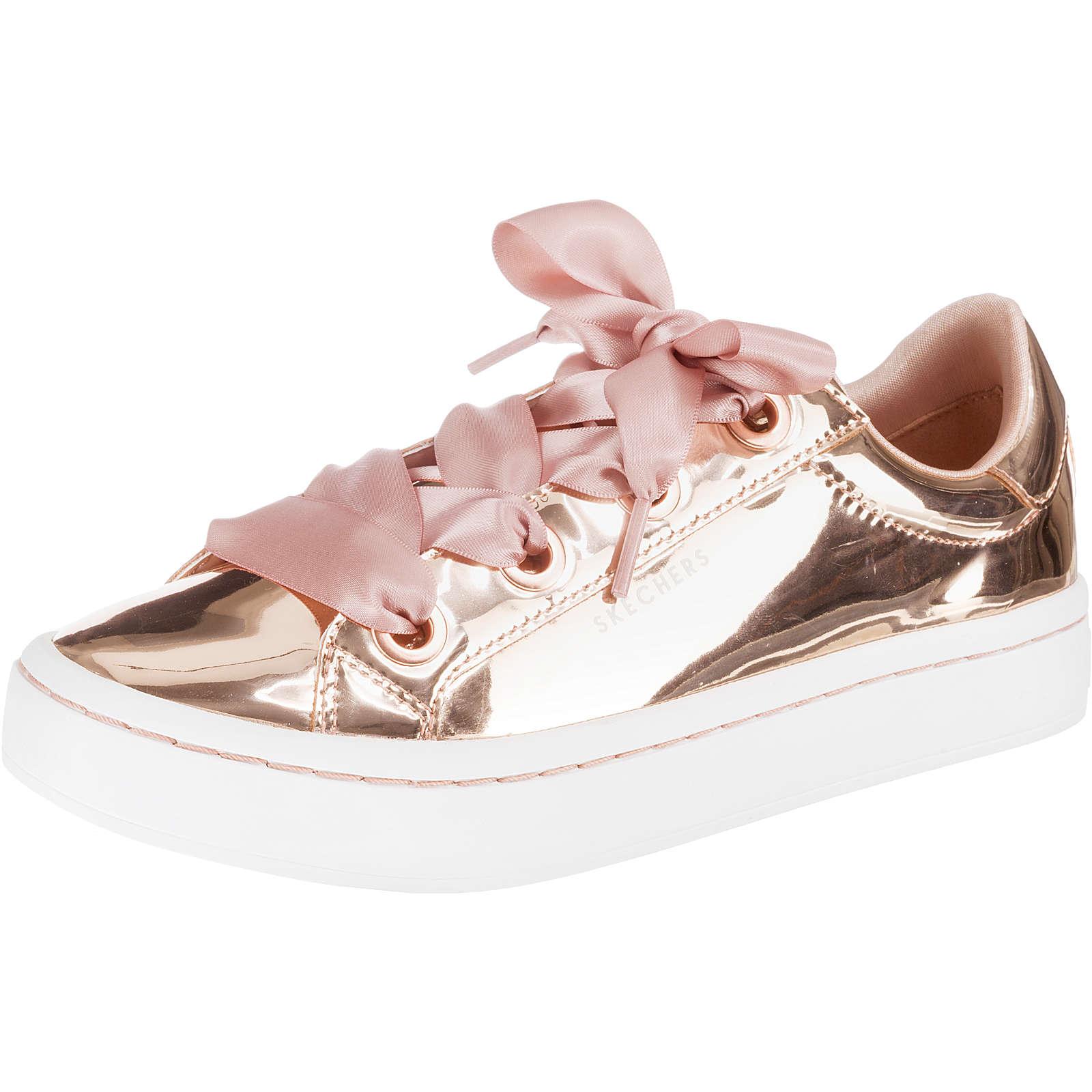 SKECHERS HI-LITES LIQUID BLING Sneakers Low rosegold Damen Gr. 36