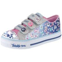 SKECHERS Kinder Schuhe Twinkle Toes Blinkies blau Mädchen Gr. 30