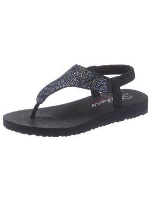 Skechers Sandale »Meditation – New Moon«, mit Gummizug für einen guten Halt