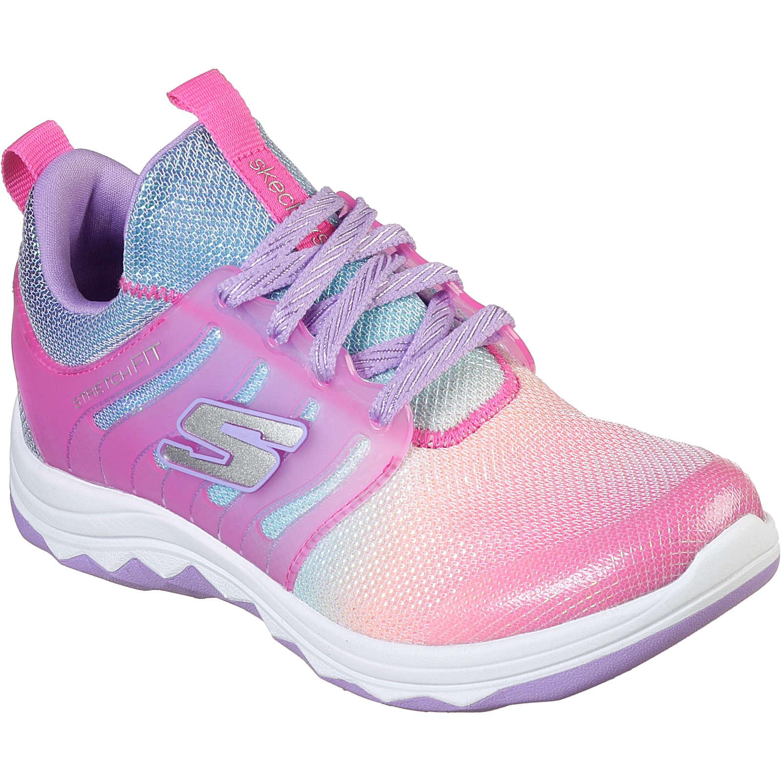SKECHERS Sneakers low DIAMOND RUNNER RAINBOW DREAMS für Mädchen pink Mädchen Gr. 32